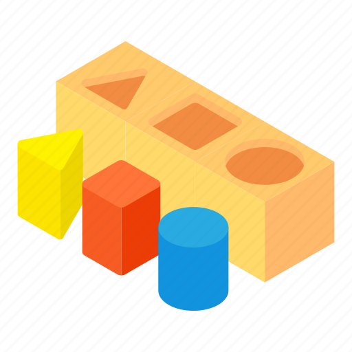 block, cartoon, colorful, construction, cube, play, toy icon