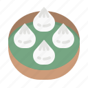 bun, chinese, food, restaurant, xiaolongbao icon