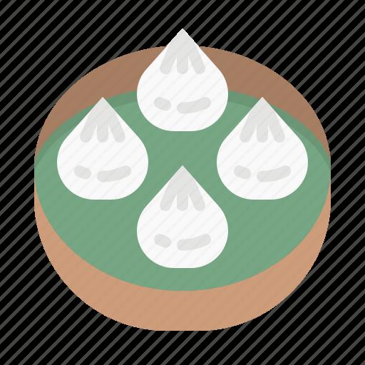bun, chinese, food, restaurant, xiaolongbao icon