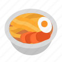 bowl, chinese, hot, noodle, ramen icon