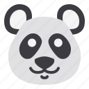 animal, china, cute, head, panda icon