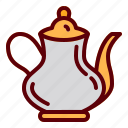 drink, hot, tea, teapot, traditional icon