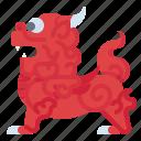 animal, chinese, dragon, pixiu icon