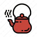 coffee, kettle, pot, tea, teapot icon