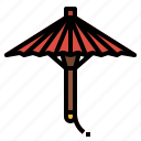 china, chinese, cultures, umbrella icon
