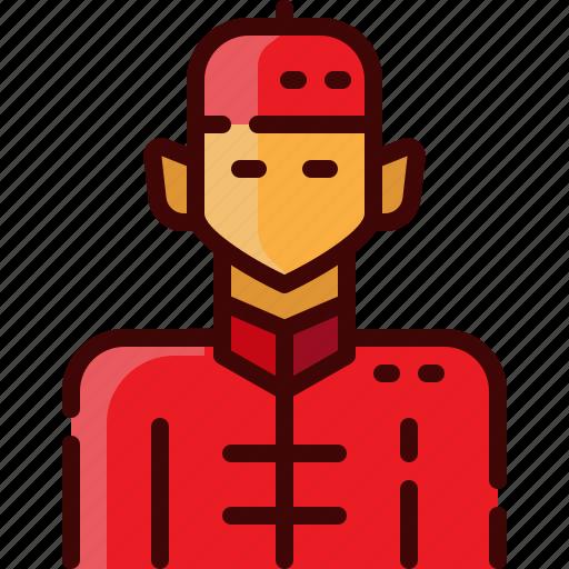 avatar, china, man icon