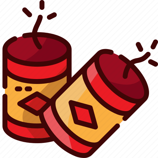 china, firecracker icon