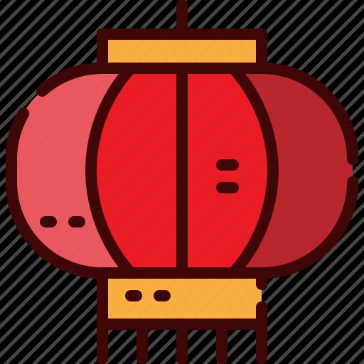 china, lantern, light icon
