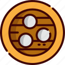 china, dumplings icon