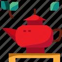 china, drink, pot, tea icon