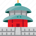 china, heaven, landmark, of, temple