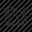 dragon, china, asian, festival