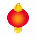 celebration, chinese, decoration, isometric, lantern, new, traditional icon