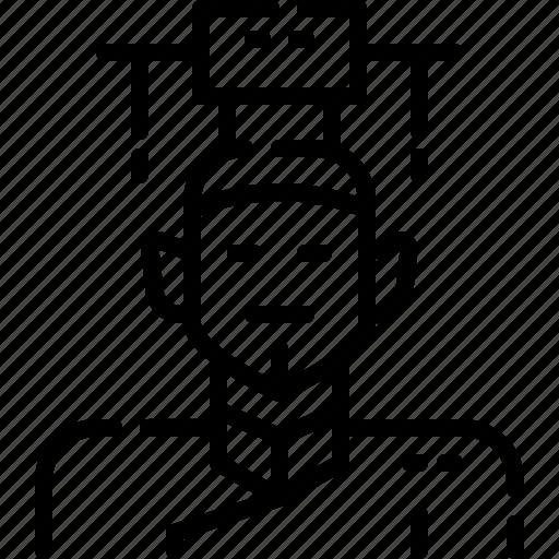 avatar, china, costume, emperor, man, person, traditional icon