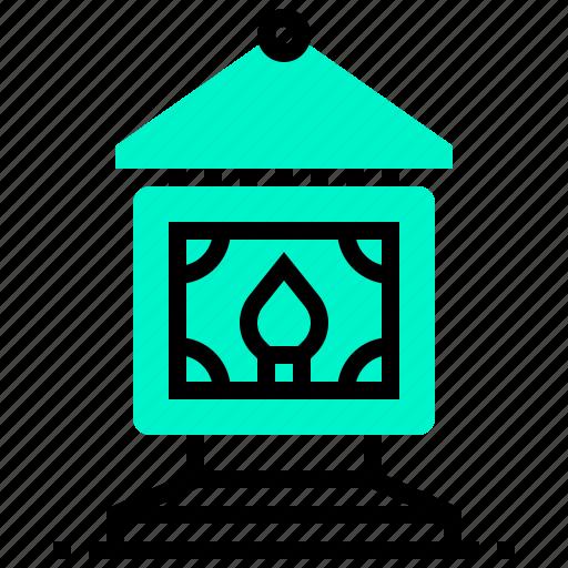 chinese, decoration, lamp, light icon