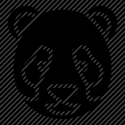animal, chinese, panda icon