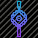 amulet, charm, chinese, talisman icon
