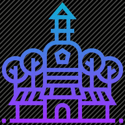 beihai, building, china, park icon