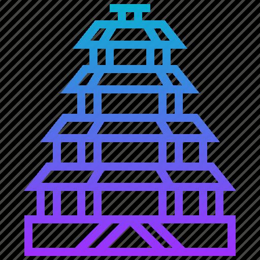 building, china, palace, summer icon