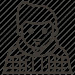 avatar, boy, china, man icon