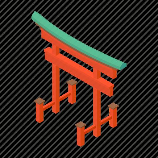 asia, cartoon, gates, japanese, landmark, religion, sacred icon