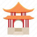 asian, building, cartoon, china, chinese, culture, pagoda icon