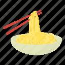 cartoon, chop, chopstick, chopsticks, hashi, stick, sushi icon