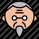 avatar, character, china, chinese, cny, grandpa icon