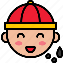 avartar, boy, character, chinese, cny, male icon