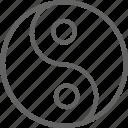 buddhism, china, oriental, sign, tao, yang, yin