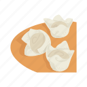 chinese cuisine, chinese food, dumpling, food, steam bun, wonton icon