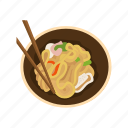 chinese cuisine, chinese food, chinese noodles, food, noodles, snack, stir-fried noodles icon