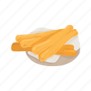 chinese cruller, chinese cuisine, chinese food, cruller, food, youtiao icon