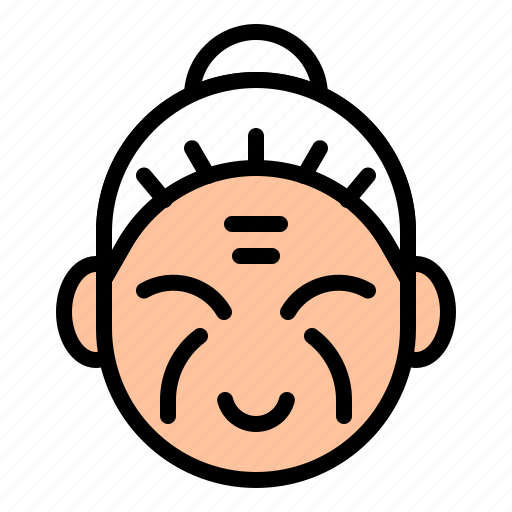 avatar, china, chinese, grandma, nanny, senior icon