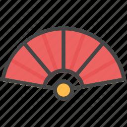 asian fan, chinese fan, folding fan, hand fan, oriental fan icon