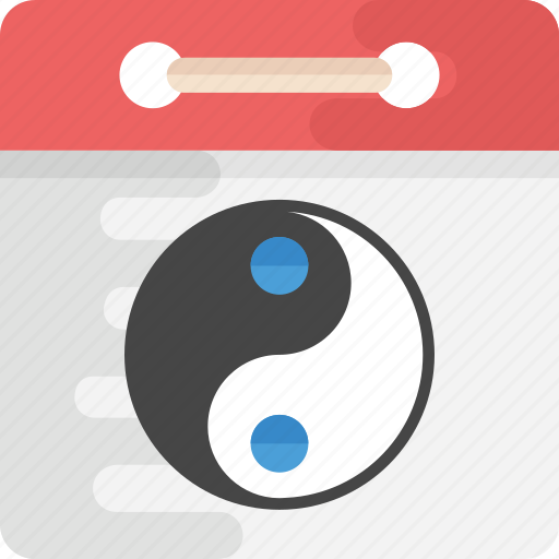 chinese calendar, dates, day, event, month and year icon