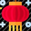 chinese, decoration, lantern, new year icon