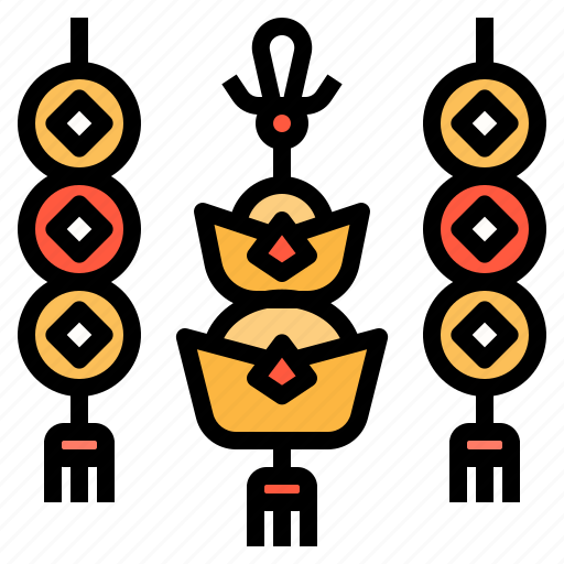 Amulet, asian, chinese, decoration, ornament icon - Download on Iconfinder