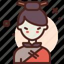 asia, avatar, female, medieval, profile, user