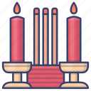 incense, chinese, new, year icon
