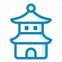 pagoda, temple, landmark, shrine, tower