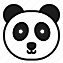 animal, avatar, china, chinese, cute, panda icon