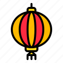 china, chinese lantern, lunar new year, new year, paper lantern icon