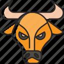 ox, animal, bull, wildlife, nature, farm, chinese new year