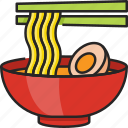 noodles, food, asian, meal, dish, chinese, bowl
