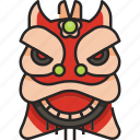 lion head, chinese, china, chinese lion, chinese imperial lion, chinese new year, traditional