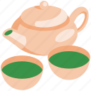 tea, drink, cup, hot, green tea, asian, beverage icon