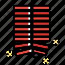 bomb, chinese, cracker, firework, new, year icon