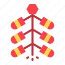 chinese, cny, firecracker, new year icon