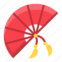 chinese, chinese fan, cny, fan, new year icon